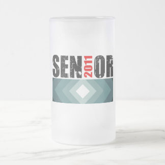 Senior Class of 2011 Frosted Glass Mug