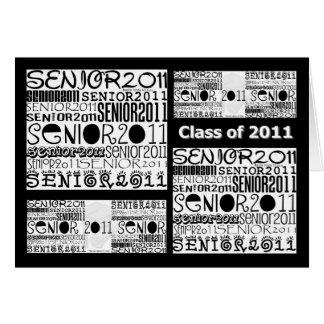 Senior Class of 2011 Greeting Card