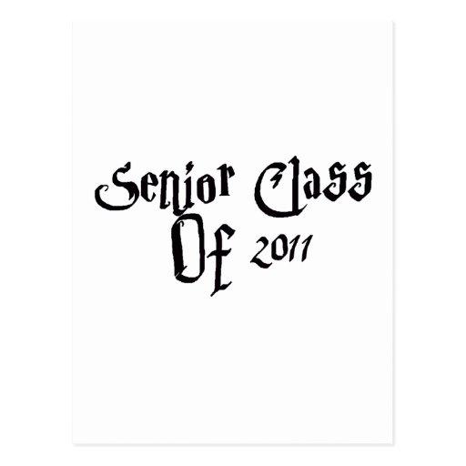 Senior Class Of 2011 Postcards
