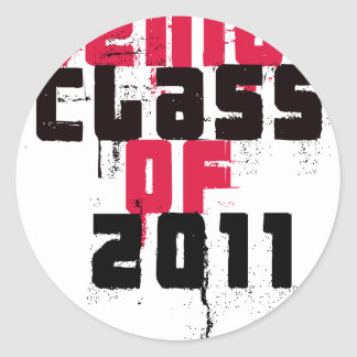 Senior Class Of 2011 Sticker