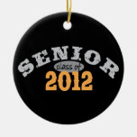 Senior Class of 2012 Double-Sided Ceramic Round Christmas Ornament