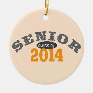Senior Class of 2014 Christmas Ornament
