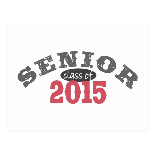 Senior Class of 2015 Postcard