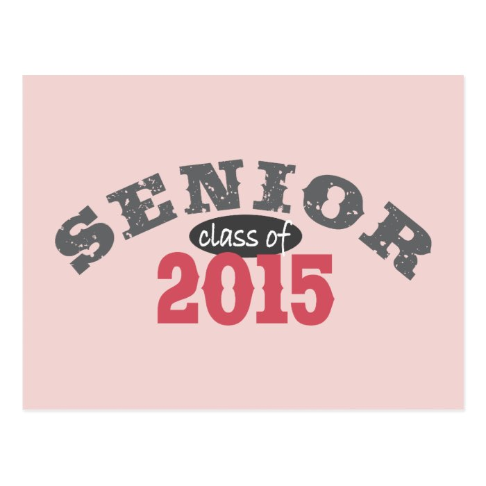 Senior Class of 2015 Postcard