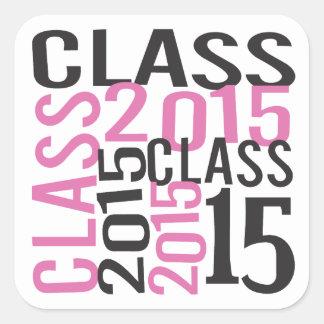 Senior Class of 2015 Square Sticker
