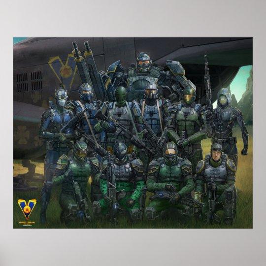 """Senior Command"" Poster"