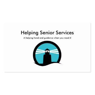 Senior Companion Services Business Card
