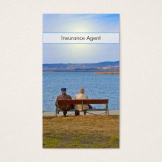 Senior Couple Business Card