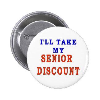 SENIOR DISCOUNT PINS