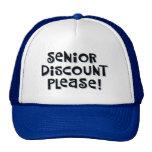 Senior Discount Cap