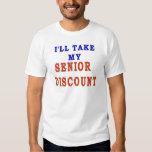 SENIOR DISCOUNT SHIRTS