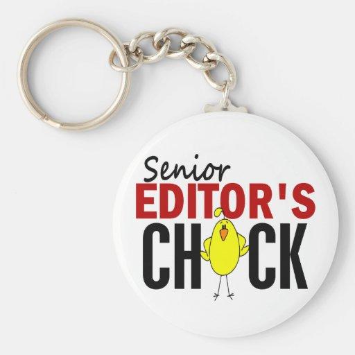 Senior Editor's Chick Key Chain