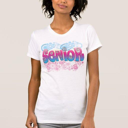 Senior - Flowers 2 T-shirts