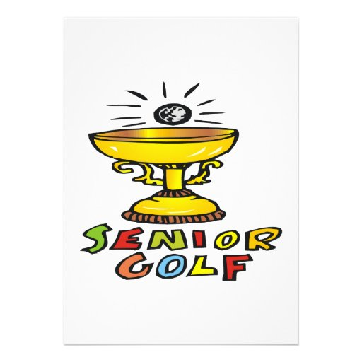 Senior Golf Trophy Announcements