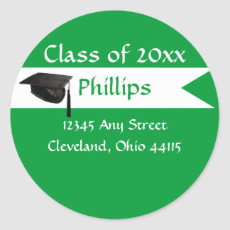 Senior Green Envelope Seal