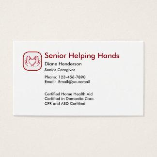 Senior Home Care Business Card