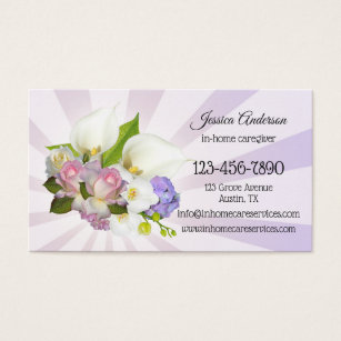 Home health aide business cards nice houzz senior home care caregiver business card colourmoves