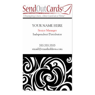 Senior Manager Business Card Template