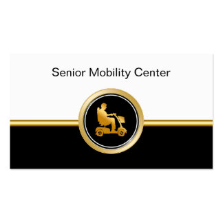 Senior Mobility Supply Business Cards