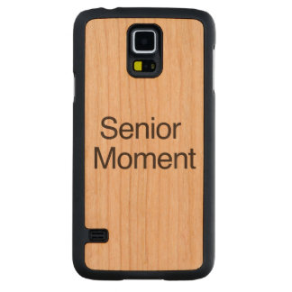 Senior Moment.ai Carved® Cherry Galaxy S5 Slim Case