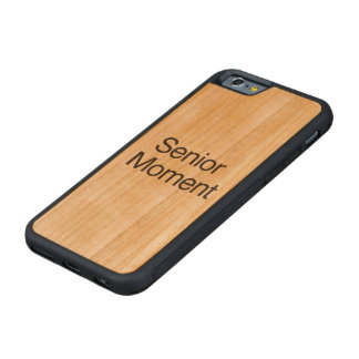 Senior Moment.ai Carved® Cherry iPhone 6 Bumper Case