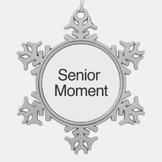 Senior Moment ai Ornament