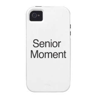 Senior Moment Vibe iPhone 4 Cases
