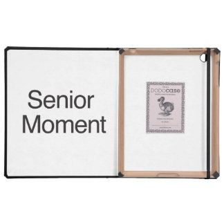 Senior Moment iPad Folio Cases