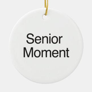 Senior Moment Ornaments