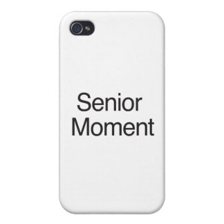 Senior Moment iPhone 4/4S Covers