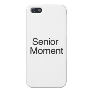 Senior Moment iPhone 5/5S Covers