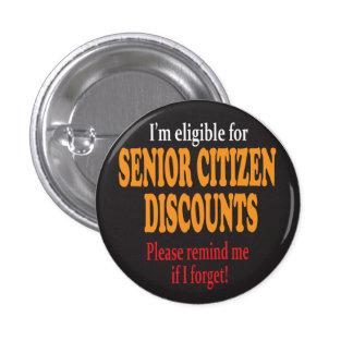 Senior Moments   Milestone Birthday 3 Cm Round Badge