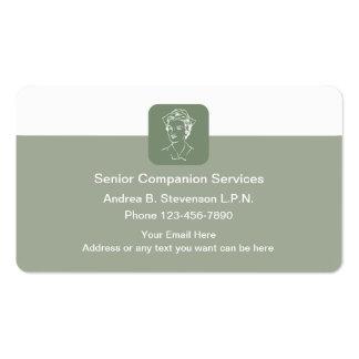 Senior Nurse Care Pack Of Standard Business Cards