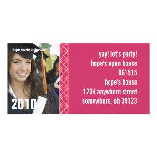 Senior Pictures - 2010 Graduation Invitation Personalized Photo Card