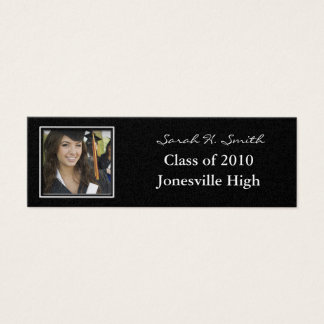 Senior Pictures Profile Business Card your photos