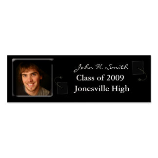 Senior Profile Card with your photos Pack Of Skinny Business Cards