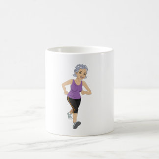 Senior Woman Runner Mug