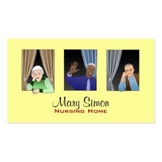 Seniors Business Cards