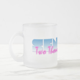Seniors: Two Thousand Fourteen Frosted Glass Mug