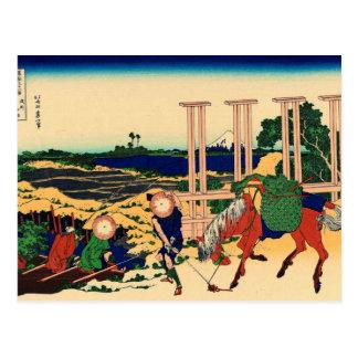 Senju, Musashi Province Postcards