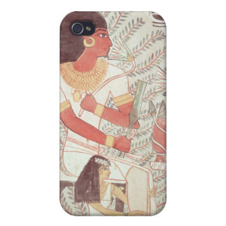 Sennefer seated with his wife,from Tomb iPhone 4/4S Covers