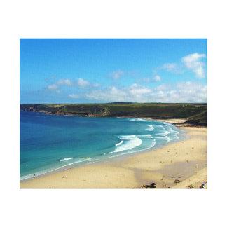 Sennen Cove Beach Cornwall England Canvas Print
