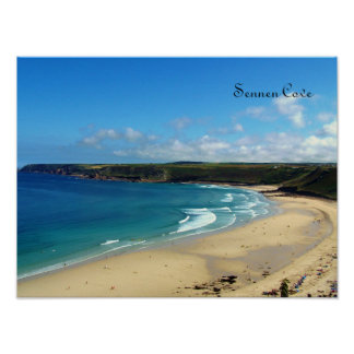 Sennen Cove Cornwall England Poster