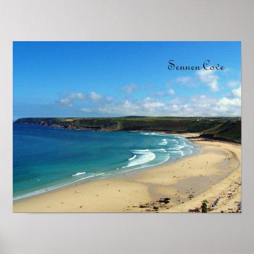 Sennen Cove Cornwall England Poster