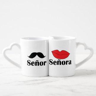 Señor & Señora Lover's Mug Lovers Mug
