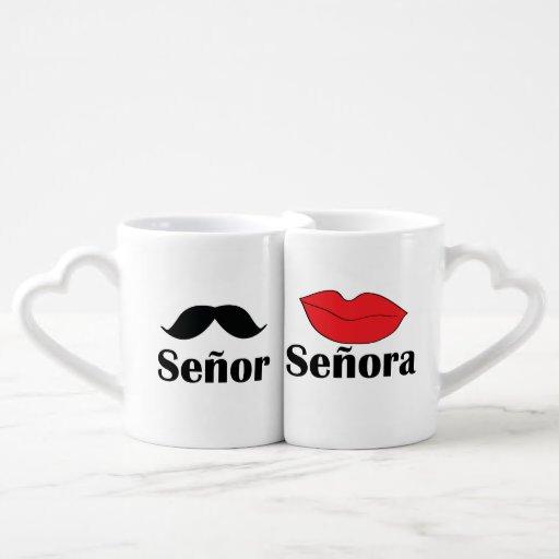 Señor & Señora Lover's Mug Couple Mugs