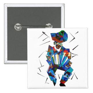 Señor Squeezebox 15 Cm Square Badge