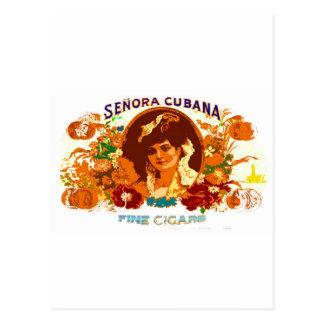 SENORA CUBANA POSTCARDS