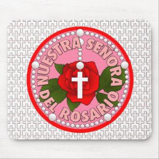 Señora del Rosario Mouse Pad