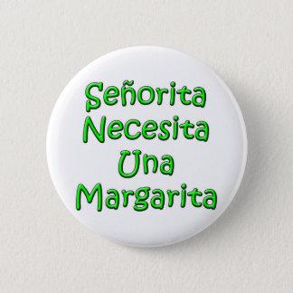 Senorita2 6 Cm Round Badge